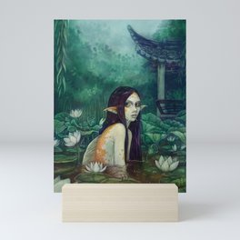 Koi Maiden Mini Art Print