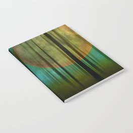 Full Moon Forest Notebook