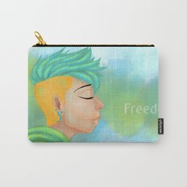 Freedom speaks in Silence  Carry-All Pouch