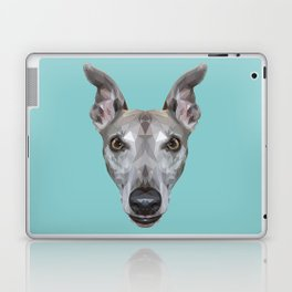 Whippet // Blue (Vespa) Laptop & iPad Skin