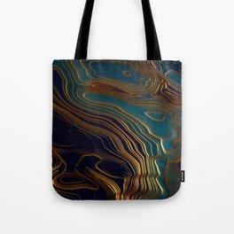 Peacock Ocean Tote Bag