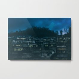 Laodong Miao Village outside of Fenghuang, China Metal Print