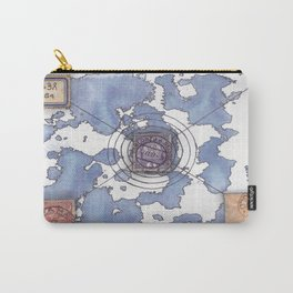 """multiverse map 4 """"alien"""" Carry-All Pouch"""