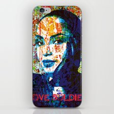 Love Soldier iPhone Skin