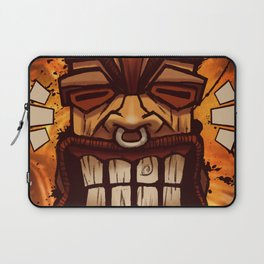 Happy Tiki Laptop Sleeve