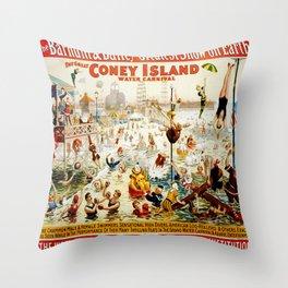 Vintage poster - Circus Throw Pillow