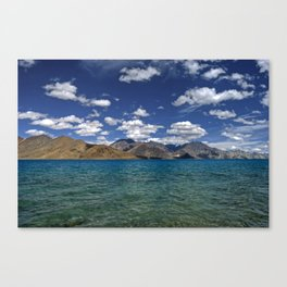 Evening Blues...Pangong Lake Canvas Print