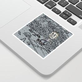 Manual pad Sticker