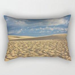 on the dune Rectangular Pillow