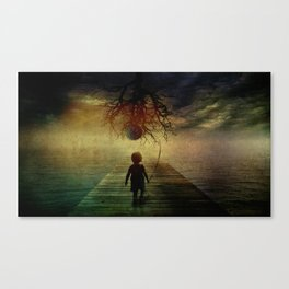 if I walk to you Canvas Print