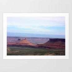 Castle in the Desert Art Print