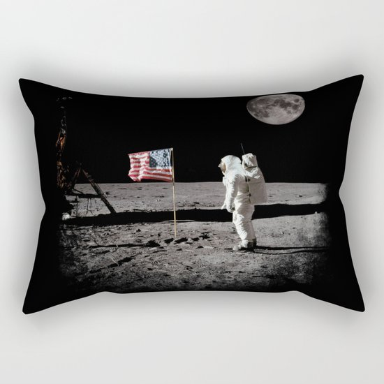 The Great Conspiracy: The Moon Is a Lie Rectangular Pillow