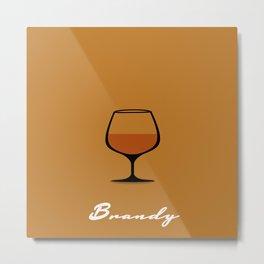 Brandy Metal Print