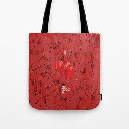 I Love You! Tote Bag