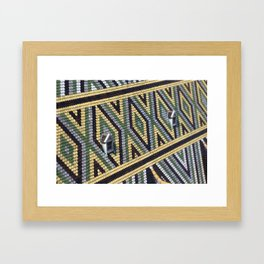 Cathedral Roof in Vienna Framed Art Print