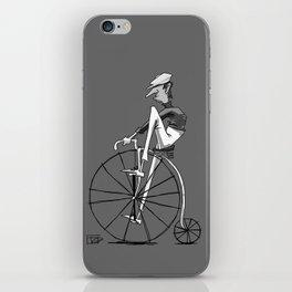 High Wheeler iPhone Skin