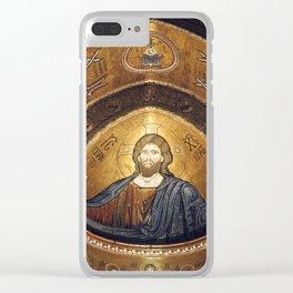 CHRISTUS PANTOKRATOR Clear iPhone Case