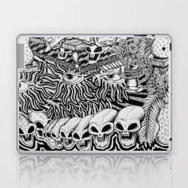 Mind Control Pizza Gypsies  Laptop & iPad Skin