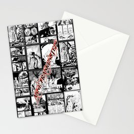 WHITE - A nne Frankenstein Book I - Resurrection Stationery Cards