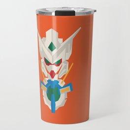 gundam exia flat design Travel Mug