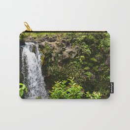 Waterfall: Road to Hana Carry-All Pouch