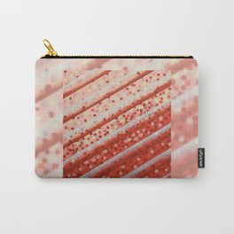 Diagonal Bars Carry-All Pouch