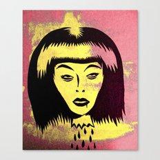 slain witch Canvas Print
