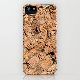 Franciscan Cherts geological formations natural pattern iPhone Case