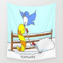 Teamwork Wall Tapestry