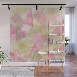 Abstract geometry pattern Wall Mural