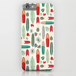 Surf's Up in the 1950's iPhone Case