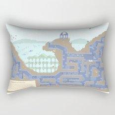 Undertunnels Maze Rectangular Pillow