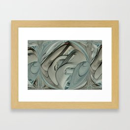 Lady Date Clusters Framed Art Print