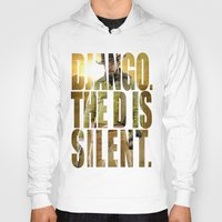 django Hoodies featuring Django Unchained by SB Art Productions