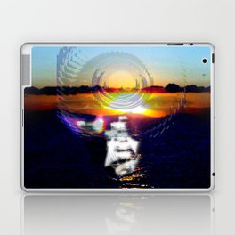 never feel alone Laptop & iPad Skin