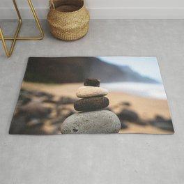 Stones On Beach Rug