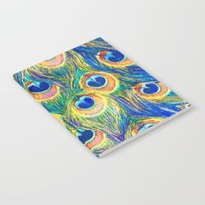 Peacock Freathers Notebook