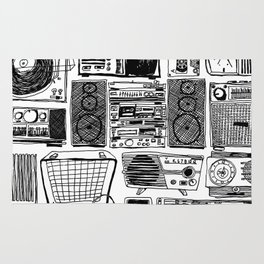 Music Boxes Rug