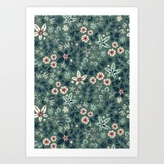 Earth Garden Art Print