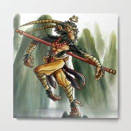 Son Wukong  Metal Print