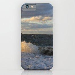 Autumn Crashing Waves - Photography iPhone Case