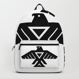 Native American Thunderbird Symbol Flag Backpack