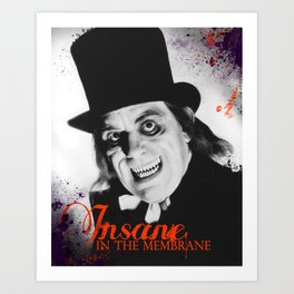 London After Midnight Art Print