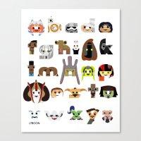 ABC3PO Episode II Canvas Print