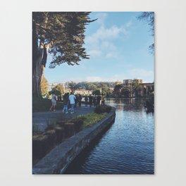 Walks Canvas Print
