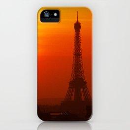 Red Paris iPhone Case