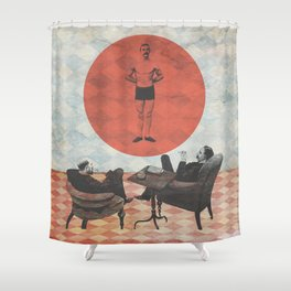The Candidate Shower Curtain