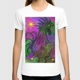 Purple Haze Hen T-shirt