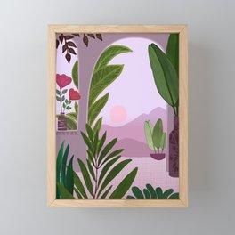 Tropical Morning Framed Mini Art Print