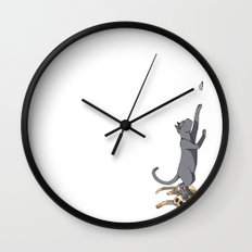 The Cats Wall Clock